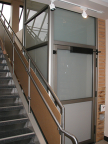 wheelchair lifts elevators architect resources. Black Bedroom Furniture Sets. Home Design Ideas