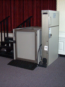 wheelchair lift standard features genesis staage. Black Bedroom Furniture Sets. Home Design Ideas